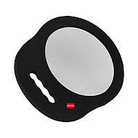 Зеркало круглое с одной ручкой для клиентов  небьющееся