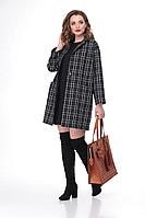 Женская осенняя трикотажная пальто и платье Deluizn 865 44р.