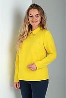 Женская осенняя желтая блуза Таир-Гранд 62224 желтый 44р.