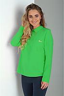 Женская осенняя зеленая блуза Таир-Гранд 62224 зеленый 44р.