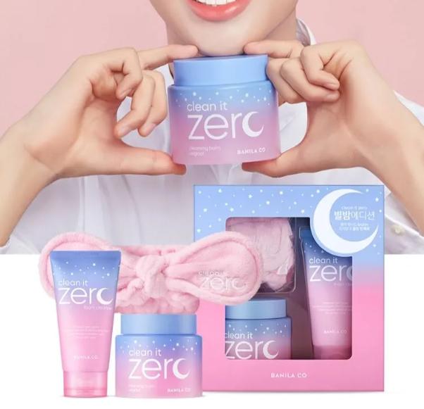 Banila Co Подарочный набор для очищения кожи Clean it Zero (3 предмета)