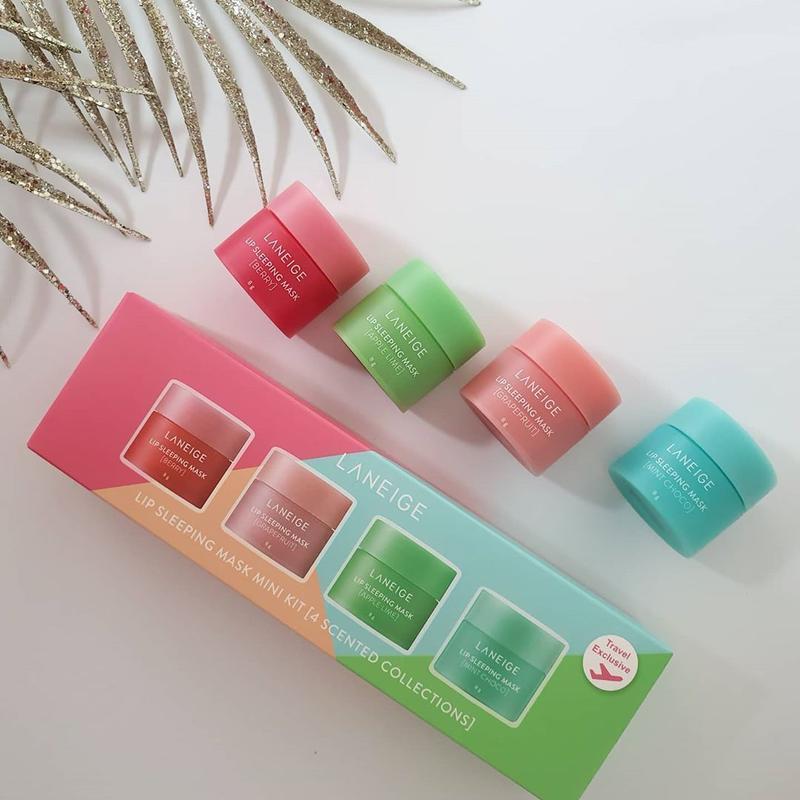 Набор масок для губ Lip Sleeping Mask Mini Kit 8g*4ea (Laneige)