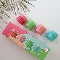 Набор масок для губ Lip Sleeping Mask Mini Kit 8g*4ea (Laneige), фото 1
