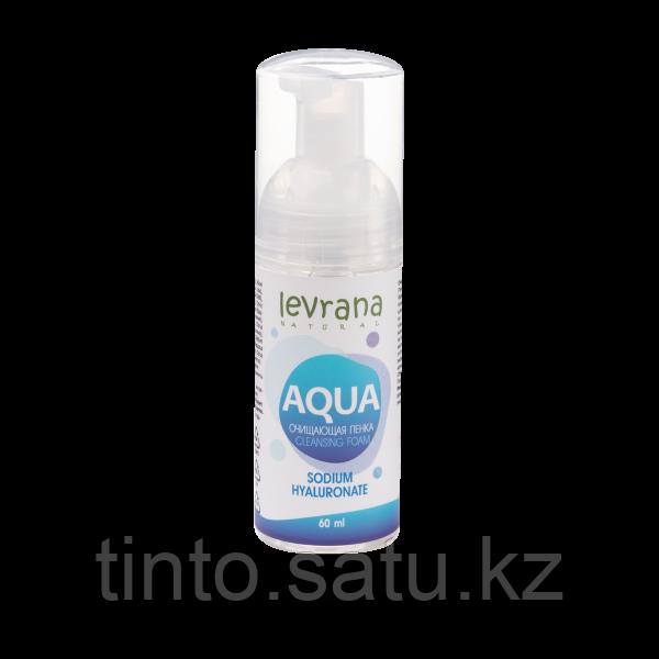 Пенка для умывания AQUA  Леврана с гиалуроновой кислотой, 150 мл