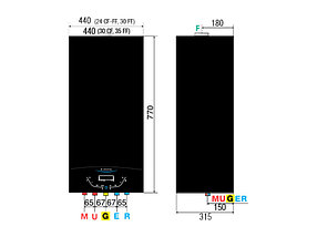 Газовый настенный котёл Ariston  ALTEAS X 30 FF NG, фото 2