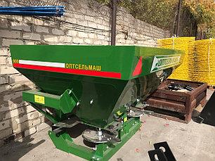 Разбрасыватель минеральных удобрений навесной 900L (Фермер), фото 3
