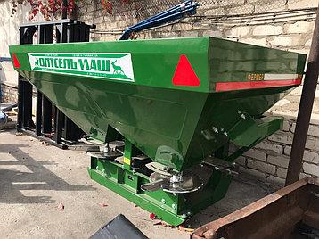 Разбрасыватель минеральных удобрений навесной 900L (Фермер), фото 2