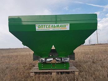 Разбрасыватель минеральных удобрений РУМ 1100 литров Фермер, фото 2
