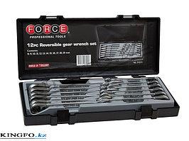 Набор ключей трещотчных, реверсивных 12 пр FORCE 51211