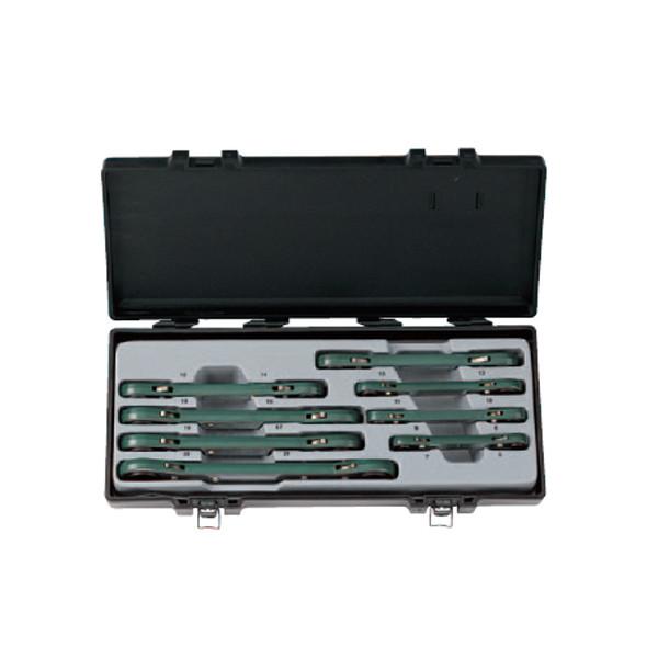 Набор ключей накидных, трещоточных 8 пр FORCE 50810