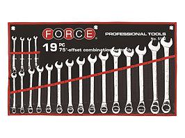 Набор ключей комбинированных 19 пр FORCE 5192