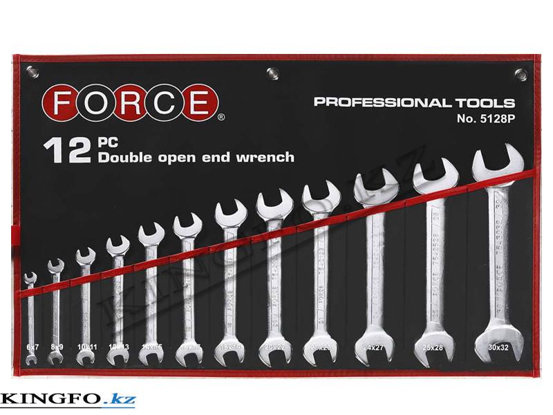 Набор ключей рожковых 12 пр FORCE 5128P