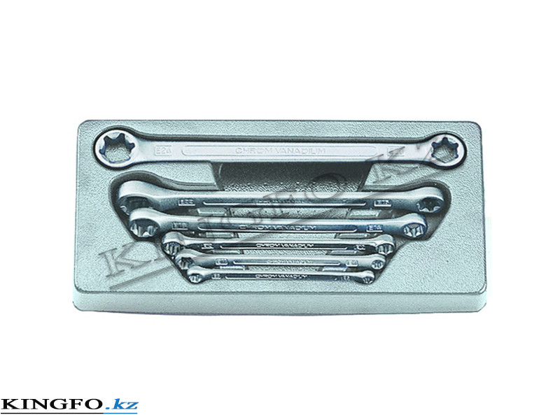 Набор ключей накидных E класса 6 пр FORCE 5062
