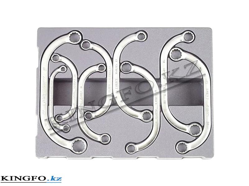 Набор ключей накидных 9 пр FORCE 50911