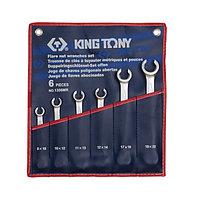 Набор разрезных ключей 6 пр KING TONY 1306MR, фото 1