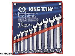 Набор комбинированных ключей 10 пр KING TONY 1210MR