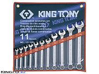 Набор комбинированных ключей 11 пр KING TONY 1211MR, фото 1