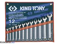 Набор комбинированных ключей 12 пр KING TONY 1212MR, фото 1