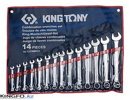 Набор комбинированных ключей 14 пр KING TONY 1215MR01