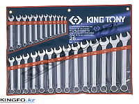 Набор комбинированных ключей 26 пр KING TONY 1226MR, фото 1