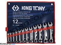 Набор комбинированных ключей 12 пр KING TONY 1282MR