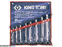 Набор накидных ключей 8 пр KING TONY 1708MR, фото 1