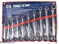 Набор накидных ключей 10 пр KING TONY 1710MR, фото 1