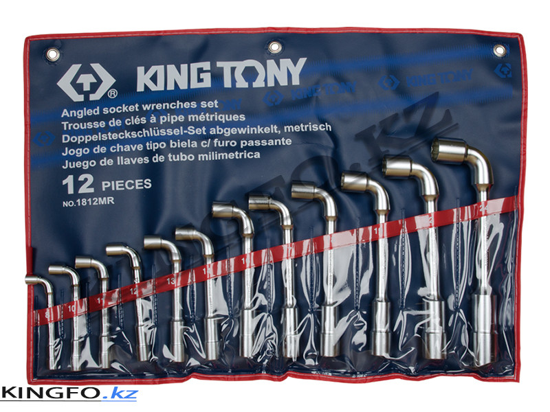 Набор торцевых Г- образных ключей 12 пр KING TONY 1812MR