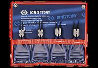 Набор съемников стопорных колец 4 пр. KING TONY 42114GP