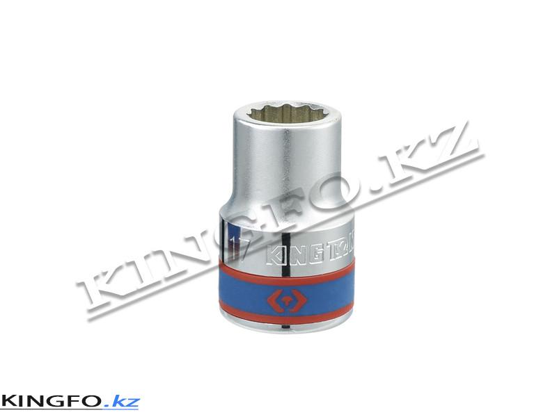 """Головка торцевая стандартная 3/4"""", 12-гр. 22 мм. KING TONY 633022M"""