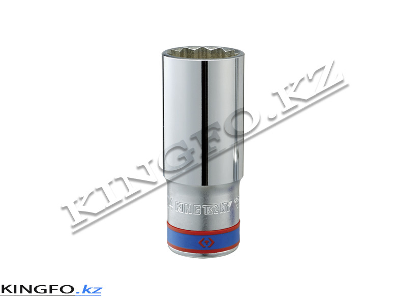 """Головка торцевая высокая 1/2"""", 12-гр. 15 мм. KING TONY 423015M"""