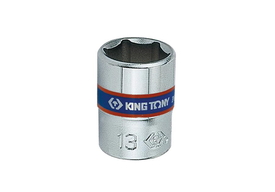 """Головка торцевая 1/4"""", 6-гр. 9 мм. KING TONY 233509M"""