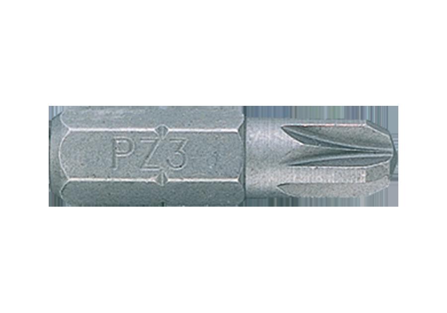 """Вставка (бита) торцевая 1/4"""", Pozidriv, PZ3, L=25 мм King Tony 102503Z."""