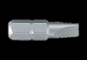 "Вставка (бита) торцевая 1/4"", Slotted, 7x1.2 мм, L=25 мм. King Tony 102507S1."