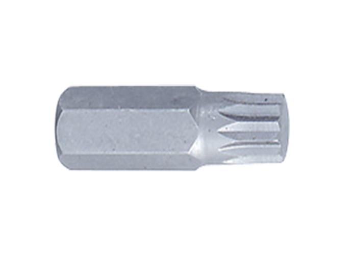 Вставка (бита) торцевая 10 мм, SPLINE, M6. L= 36 мм. King Tony 163606M.