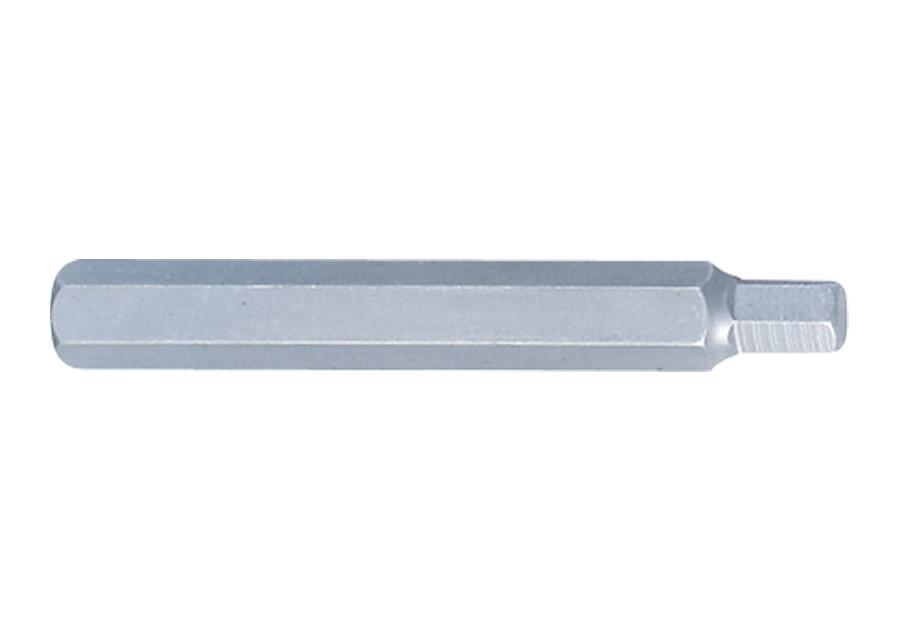 Вставка (бита) торцевая 10 мм, HEX, 6 мм. L= 80 мм. King Tony 168006H.