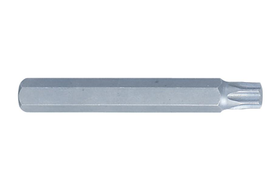 Вставка (бита) торцевая 10 мм, TORX, T60. L= 80 мм. King Tony 168060T.