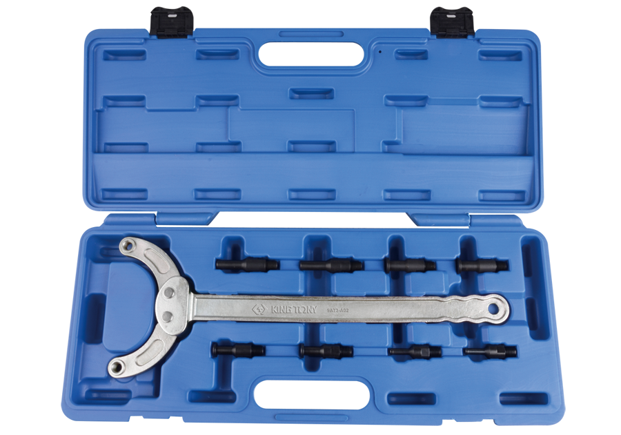 Ключ фиксатор для разборки шкивов, 5 предметов. King Tony 9AT3-A02.