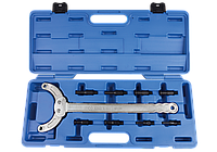 Ключ фиксатор для разборки шкивов, 5 предметов. King Tony 9AT3-A02., фото 1