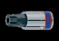 """Насадка (бита) торцевая 1/2"""", SPLINE, M 18. L = 66 мм. King Tony 402B18."""