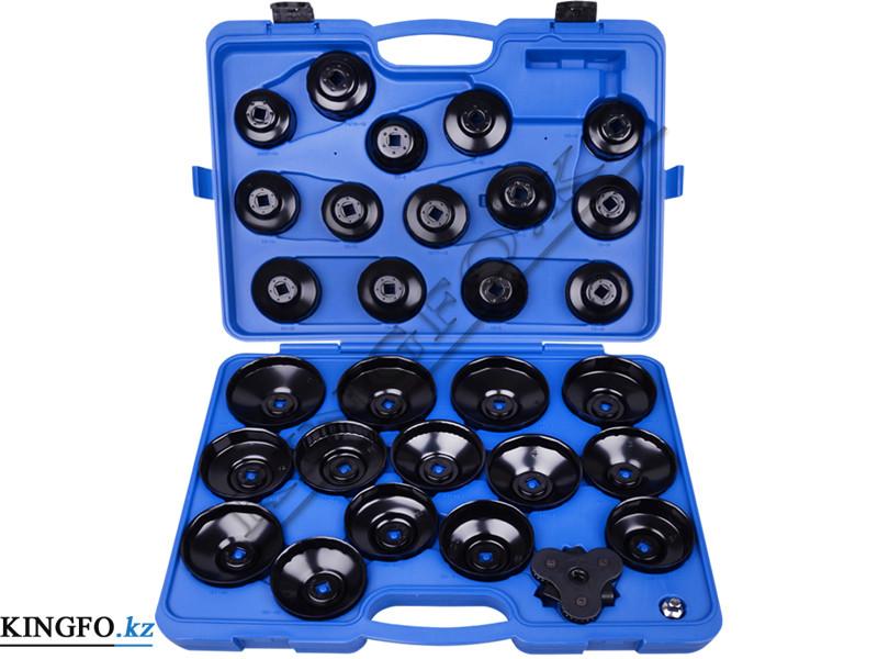 Набор съемников масляных фильтров, 30 предметов. King Tony 9AE6030.