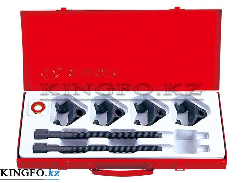 Набор для стяжки пружин амортизатора, 85-270 мм, кованые крюки, 6 пр. KING TONY 9BF21.