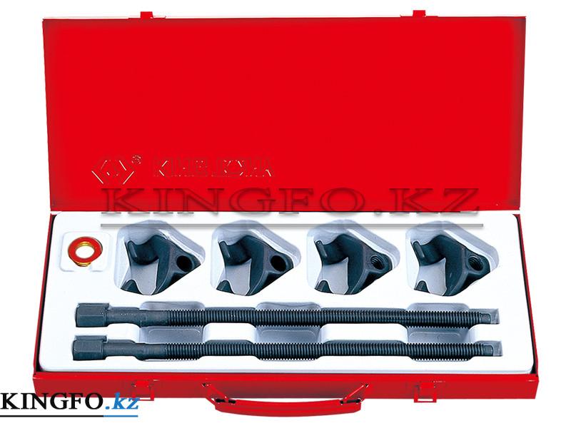 Набор для стяжки пружин амортизатора, 85-370 мм, кованые крюки, 6 пр. KING TONY 9BF11.