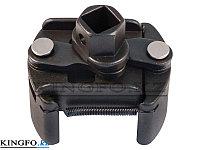 "Съемник масляных фильтров 1/2"", 60-80 мм, двух-захватный. KING TONY 9AE52., фото 1"