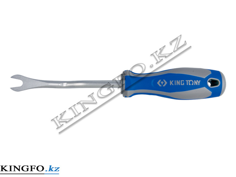Съемник клипс обшивки салона 120 мм, зев 8 мм. KING TONY 43280212.
