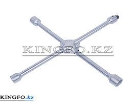 Ключ балонный колесный крестообразный, 400 мм, 17, 19, 21, 22 мм KING TONY 19911722.
