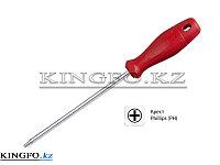 Отвертка крестовая Phillips №2, 100 мм KING TONY 14110204.