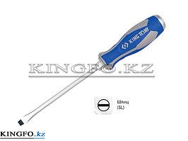 Отвертка шлицевая 6.5 мм, 100 мм, силовая KING TONY 14626504.