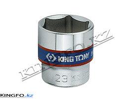 """Головка торцевая стандартная 3/8"""", 6-гр. 16 мм. KING TONY 333516M."""