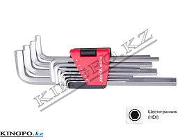 Набор Г-образных шестигранников 1.5-12 мм, 11пр. FORCE 5116L